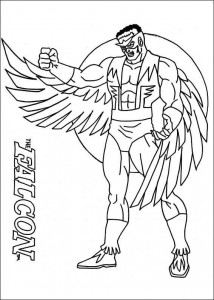 coloring page Captain America (18)