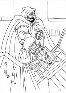 coloring page Captain America (19)