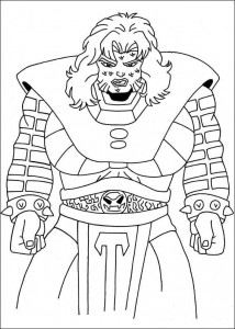 coloring page Captain America (4)