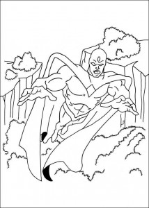coloring page Captain America (5)