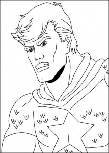 coloring page Captain America (7)
