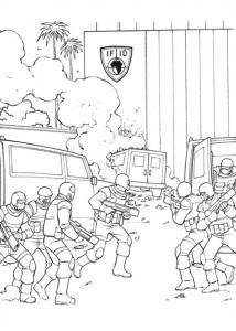målarbok Captain America Civil War (2)