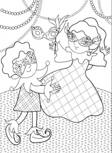 coloring page Carnival (13)