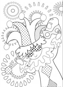 coloring page Carnival (14)