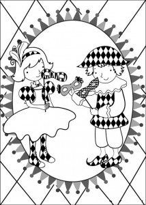 coloring page Carnival (15)