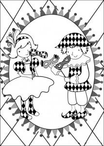 målarbok Karneval (15)