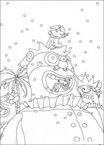 coloring page Carnival (16)