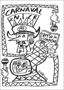målarbok Karneval (6)