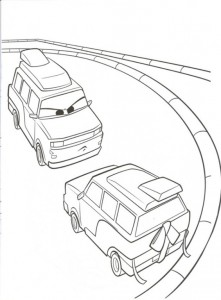 coloring page Cars 2 (2)