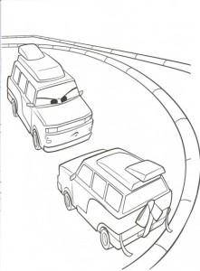 målarbok Bilar 2 (2)