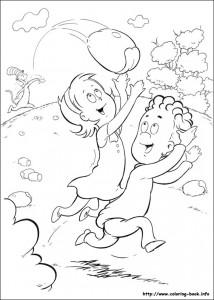 coloring page Cat in the Hat (13)