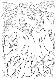 coloring page Cat in the Hat (15)