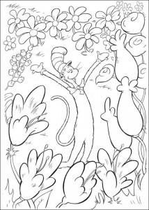 målarbok Katt i hatten (15)