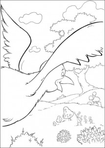 coloring page Cat in the Hat (19)