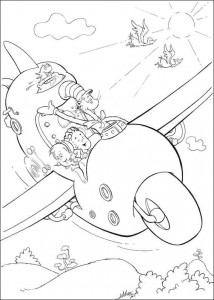 coloring page Cat in the Hat (20)