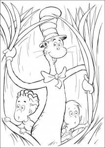 coloring page Cat in the Hat (21)