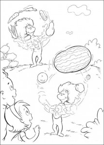 coloring page Cat in the Hat (22)