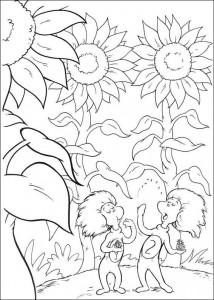 coloring page Cat in the Hat (23)