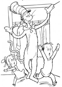 coloring page Cat in the Hat (27)
