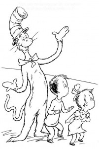 coloring page Cat in the Hat (29)
