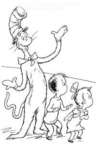 målarbok Katt i hatten (29)