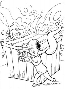 coloring page Cat in the Hat (31)