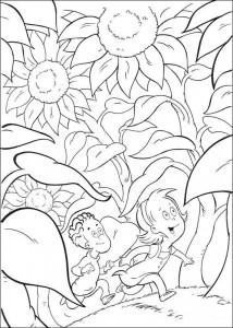 coloring page Cat in the Hat (5)