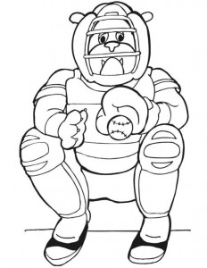coloring page Catcher (1)
