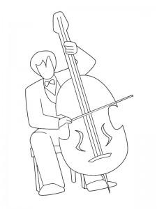 Cello målarbok