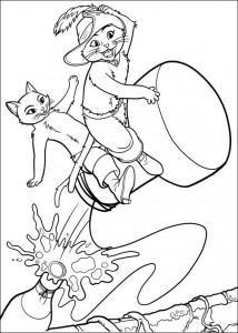 coloring page Champagnekork