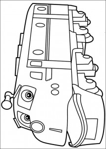Chatsworth coloring page