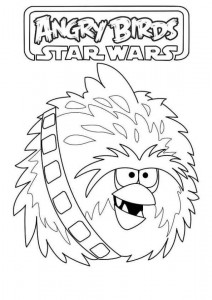 chewbacca coloring side