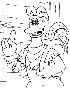 coloring page Chicken Run (10)