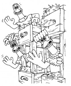 coloring page Chicken Run (11)