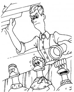 coloring page Chicken Run (13)