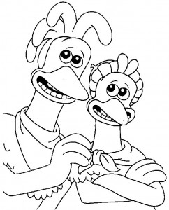 coloring page Chicken Run (14)