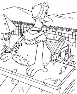 coloring page Chicken Run (18)