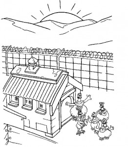 coloring page Chicken Run (19)