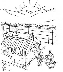 målarbok Chicken Run (19)
