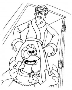 coloring page Chicken Run (2)