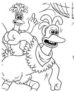 coloring page Chicken Run (21)