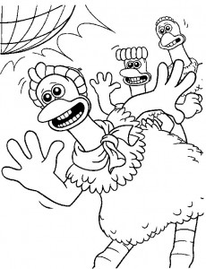 coloring page Chicken Run (22)