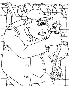 coloring page Chicken Run (23)