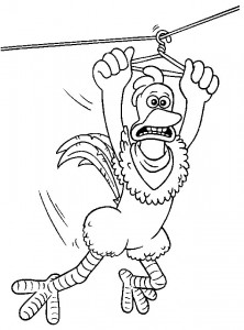 coloring page Chicken Run (24)