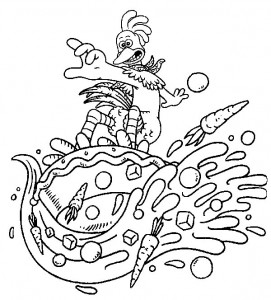 coloring page Chicken Run (25)
