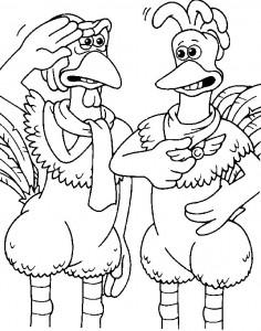 målarbok Chicken Run (26)