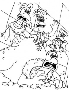 coloring page Chicken Run (3)