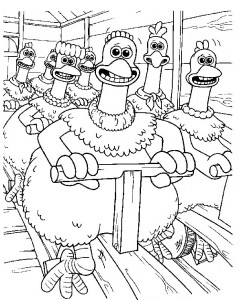 coloring page Chicken Run (31)
