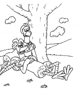 coloring page Chicken Run (33)
