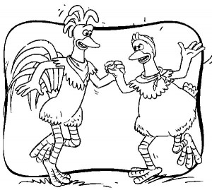 coloring page Chicken Run (35)